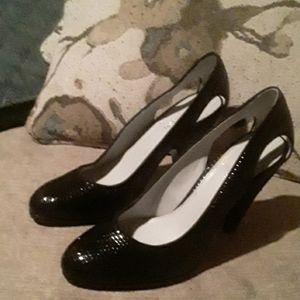 Calvin Klein Black Heels 6.5